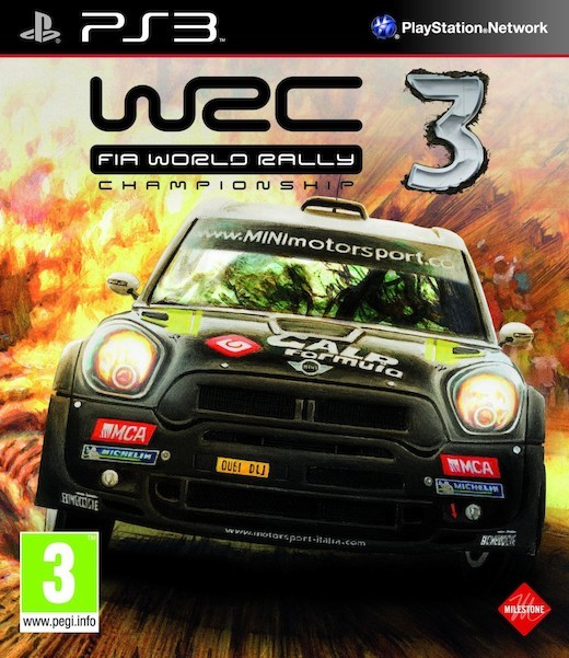 WRC: FIA World Rally Championship 3 (Bazar/ PS3)