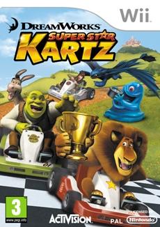 DreamWorks Super Star Kartz (Wii) - DE