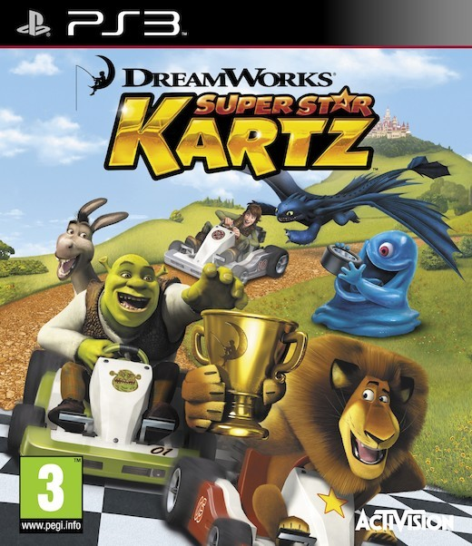 DreamWorks Super Star Kartz (Bazar/ PS3)