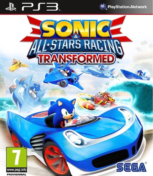 Sonic and All-Stars Racing Transformed (Bazar/ PS3)