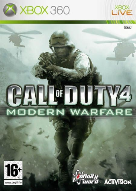 Call Of Duty 4: Modern Warfare /Game of The Year Edition/ (Bazar/ Xbox 360)