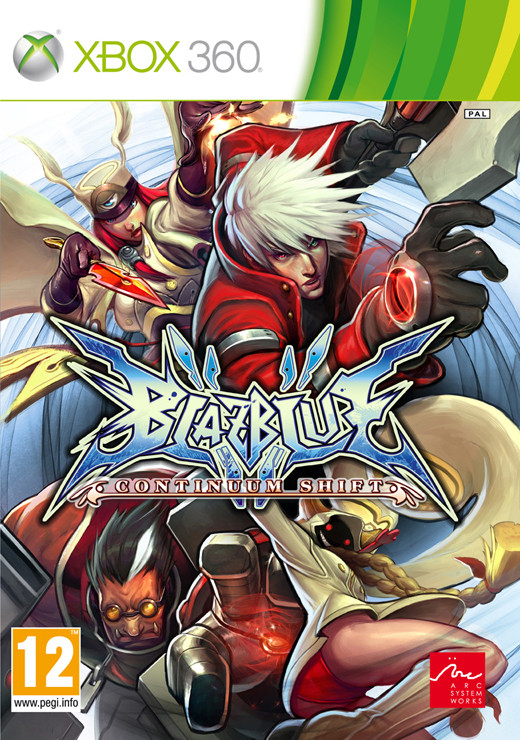 BlazBlue: Continuum Shift (Bazar/ Xbox 360)