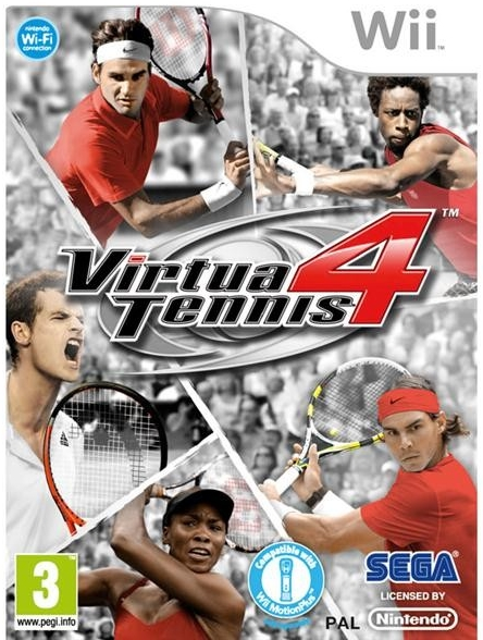 Virtua Tennis 4 (Bazar/ Wii)