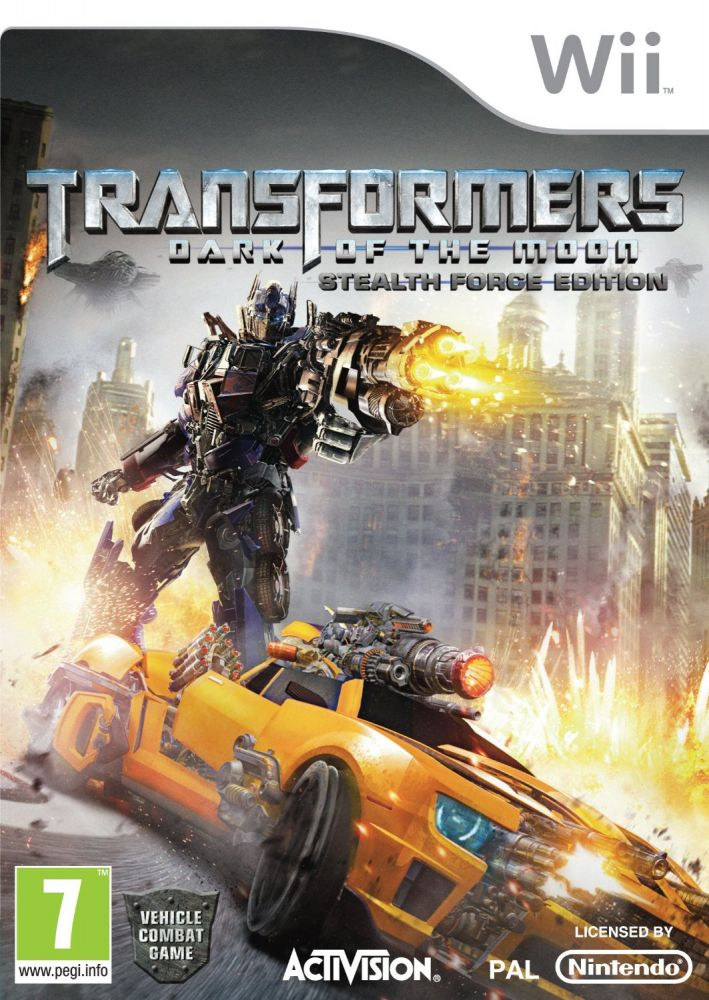Transformers: Dark of the Moon /Stealth Force Edition/ (Bazar/ Wii)