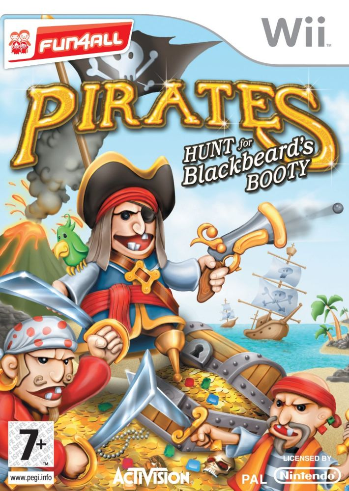 Pirates Hunt for Black Beard's Booty (Bazar/ Wii)