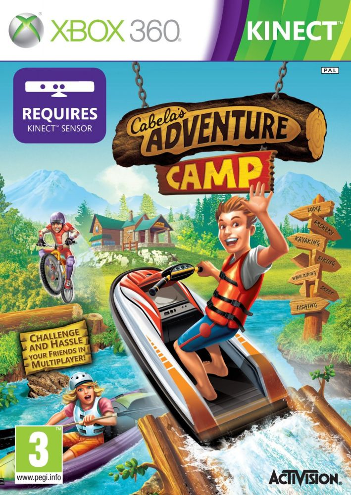 Cabelas Adventure Camp (Bazar/ Xbox 360- Kinect)