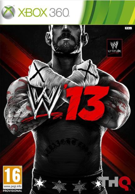 WWE SmackDown vs Raw 2013 /WWE 13/ (Bazar/ Xbox 360)