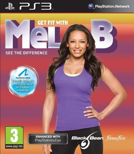 Get Fit With Mel B (Bazar/ PS3 - Move)