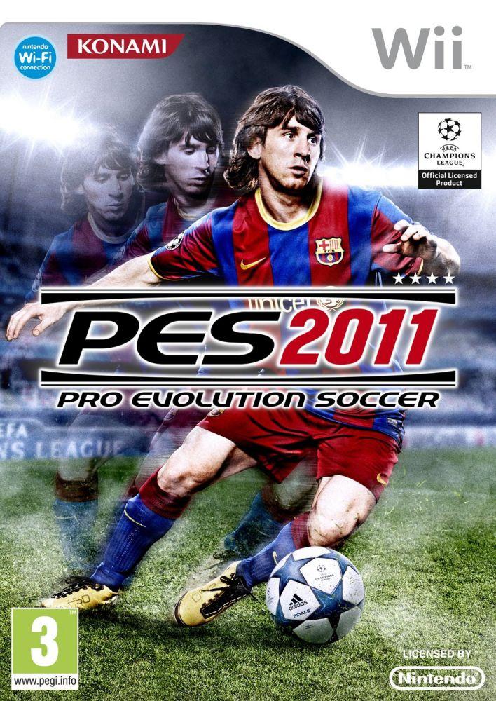 Pro Evolution Soccer 2011 {PES 2011} (Bazar/ Wii)