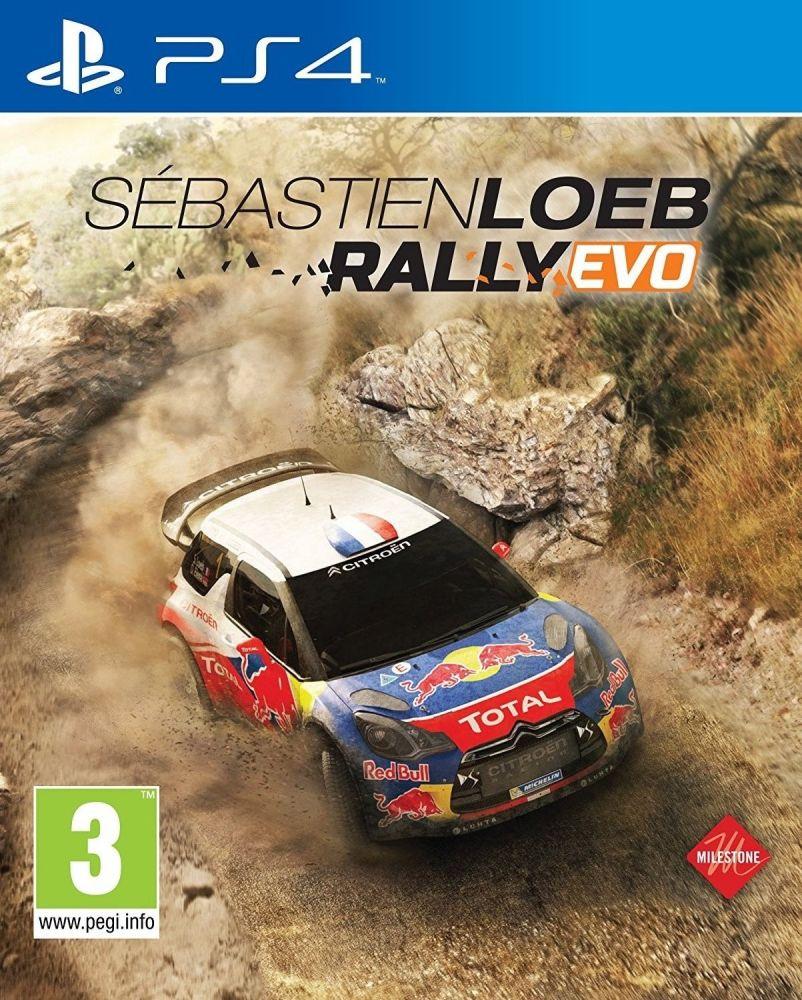 Sébastien Loeb Rally EVO (PS4) - Itl.