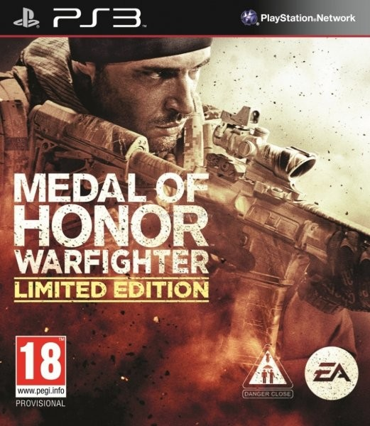 Medal of Honor: Warfighter /Limited Edition/ (Bazar/ PS3)