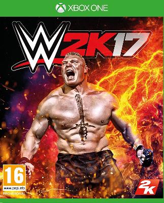 WWE 2K17 (Bazar/ Xbox One)