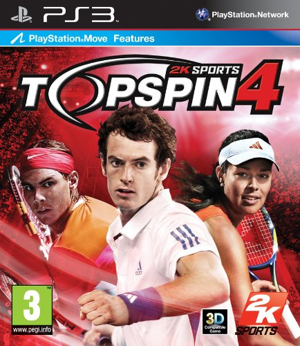 Top Spin 4 (Bazar/ PS3 - Move)