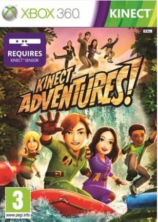 Kinect Adventures (Bazar/ Xbox 360 - Kinect)