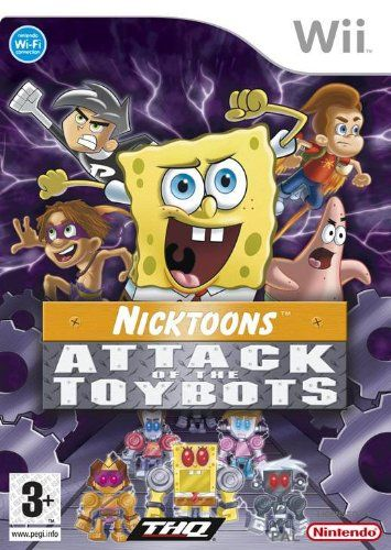 Nicktoons: Attack of the Toybots (Bazar/ Wii)