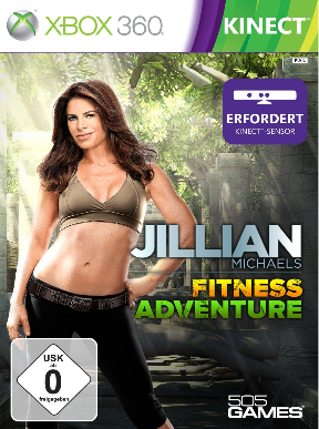 Jillian Michaels Fitness Adventure (Xbox 360- Kinect) - DE