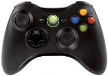 Microsoft XBOX 360 Wireless Controller- Black /Slim/ (Bazar/ Xbox 360)