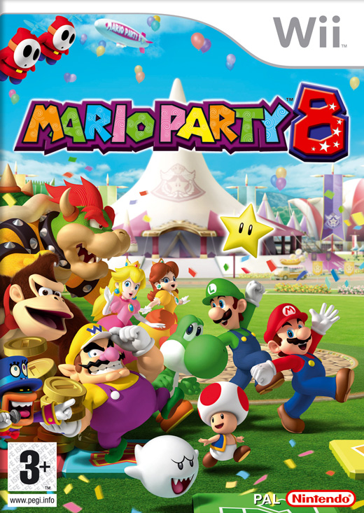 Mario Party 8 (Wii)