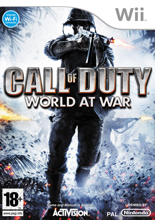 Call of Duty: World at War (Wii) - DE