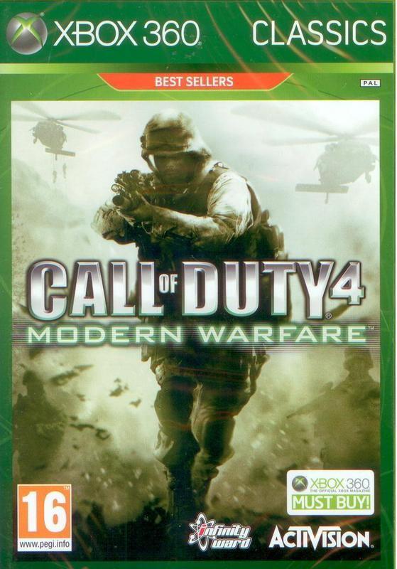 Call Of Duty 4: Modern Warfare /Game of The Year Edition/ (Bazar/ Xbox 360)