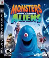 Monsters vs. Aliens (Bazar/ PS3)