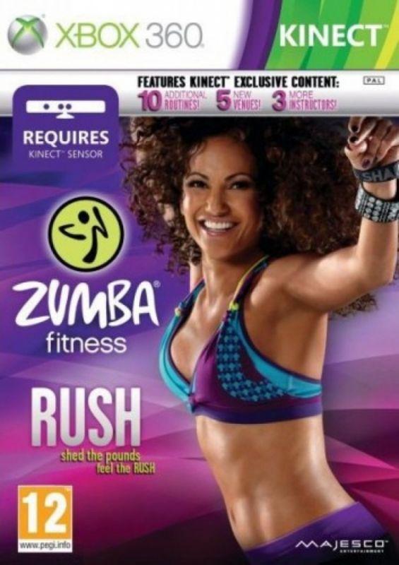Zumba Fitness: Rush (Bazar/ Xbox 360 - Kinect)
