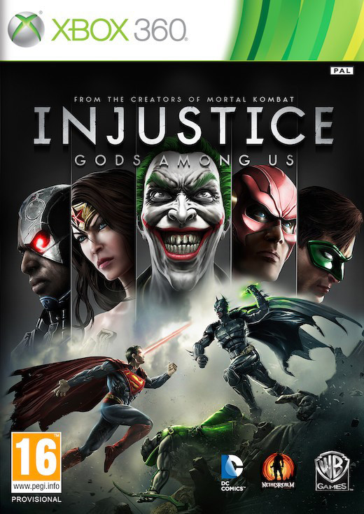 Injustice: Gods Among Us (Bazar/ Xbox 360)