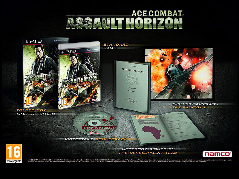 Ace Combat Assault Horizon - Limited Edition (Bazar/ PS3)
