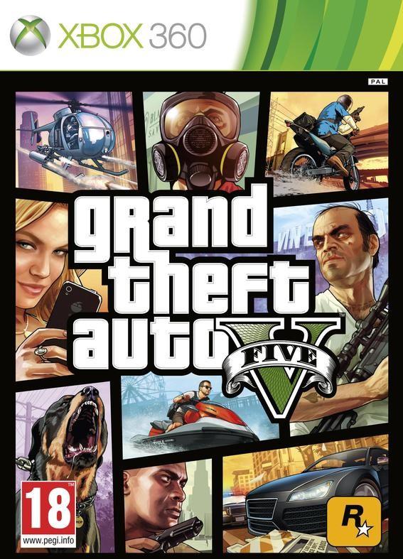 Grand Theft Auto V /GTA V/ (Xbox 360)