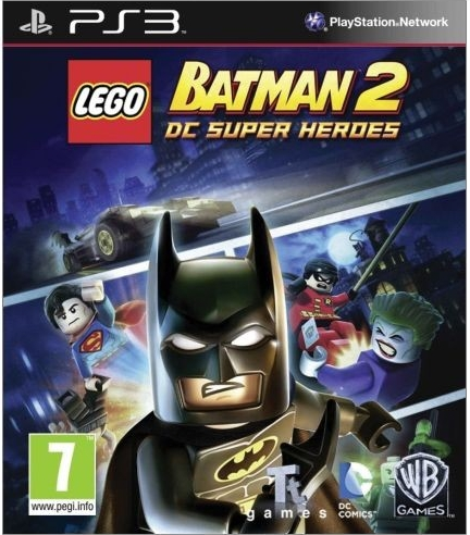 Lego Batman 2: DC Super Heroes (Bazar/ PS3)