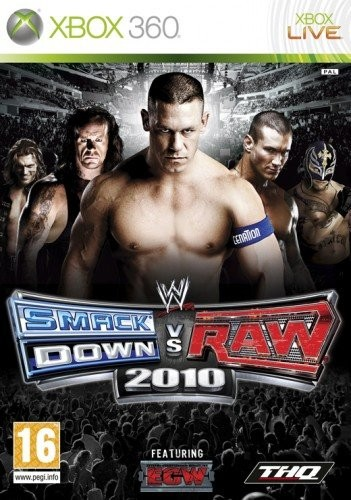 WWE Smackdown vs Raw 2010 (Bazar/ Xbox 360)