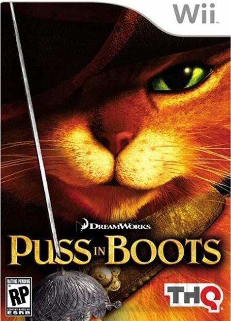 Puss In Boots (Bazar/ Wii)