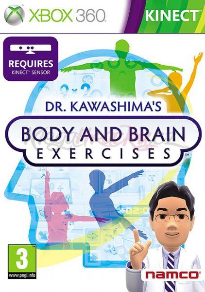 Dr. Kawashima´s Body and Brain Exercises (Bazar/ Xbox 360 - Kinect)