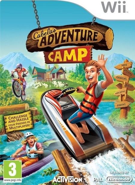 Cabelas Adventure Camp (Bazar/ Wii)
