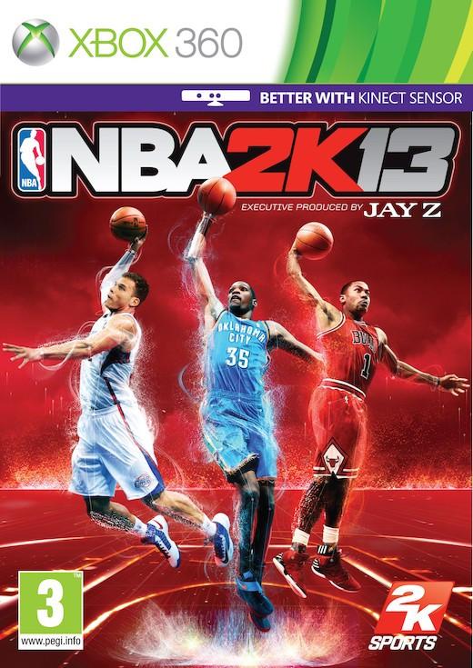 NBA 2K13 (Bazar/ Xbox 360) - DE