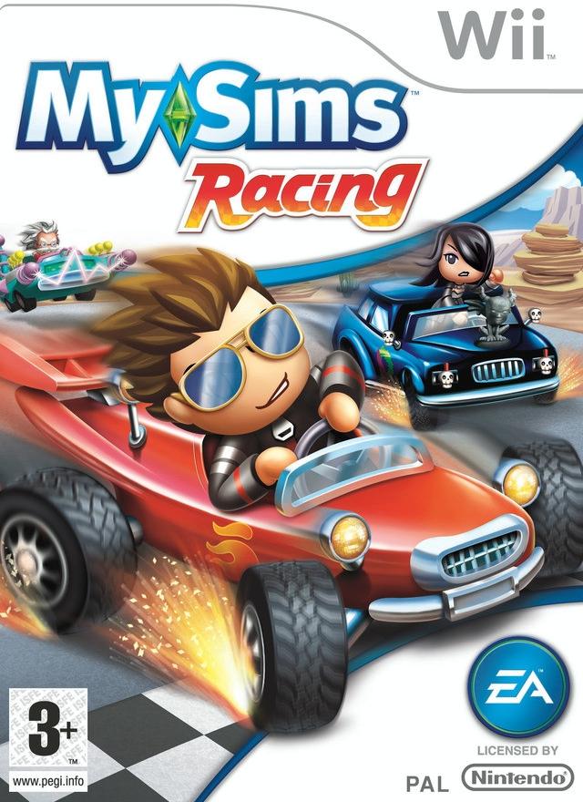 MySims Racing (Bazar/ Wii)