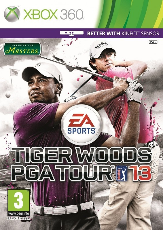Tiger Woods PGA Tour 13 (Bazar/ Xbox 360 - Kinect)