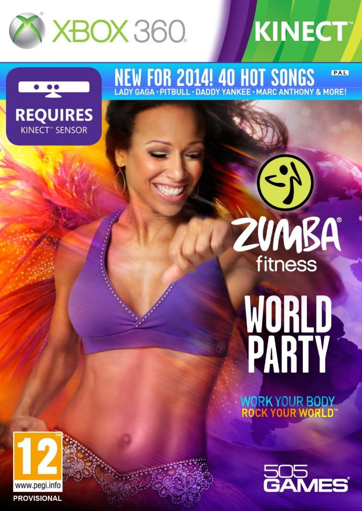 Zumba Fitness World Party (Bazar/ Xbox 360 - Kinect)