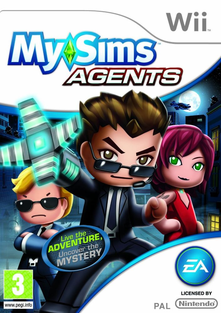 MySims Agents (Bazar/ Wii)