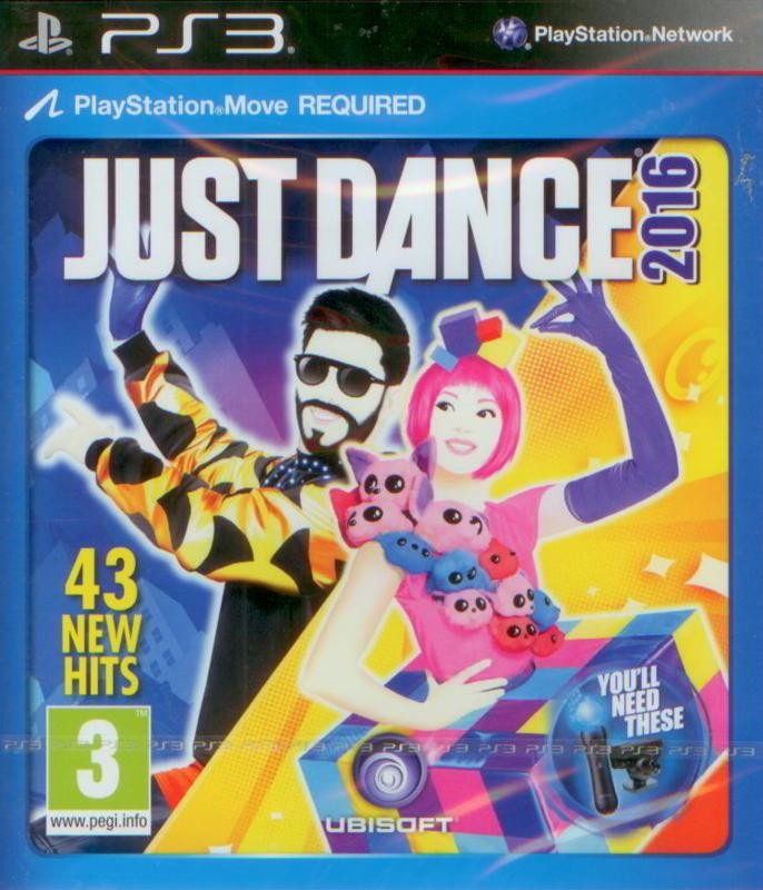 Just Dance 2016 (Bazar/ PS3 - Move)
