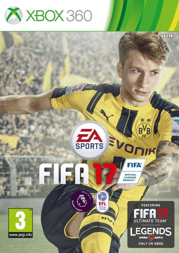 FIFA 17 (Bazar/ Xbox 360)