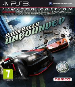 Ridge Racer: Unbounded /Limited Edition/ (Bazar/ PS3)
